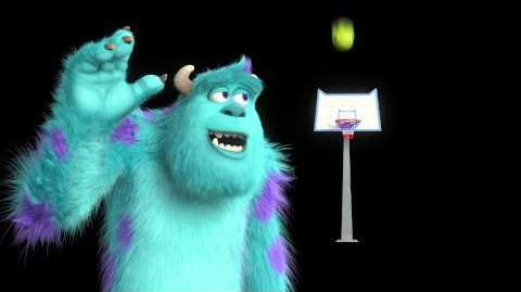 Monsters University - Sulley gioca a basket con Mike - SQUADRADIMIKE HD