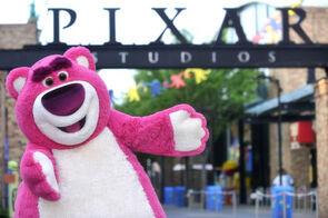 Lotso outside Pixar