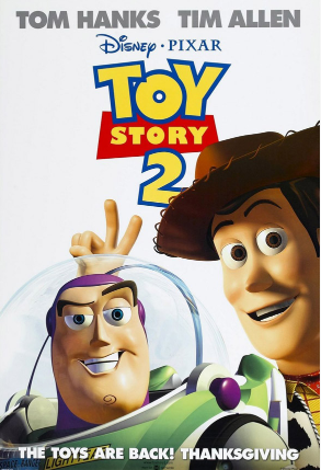 File:Toy Story 2 Poster 1 - Woody and Buzz Lightyear.png