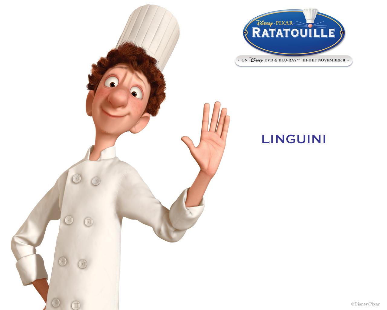 Linguini ratatouille