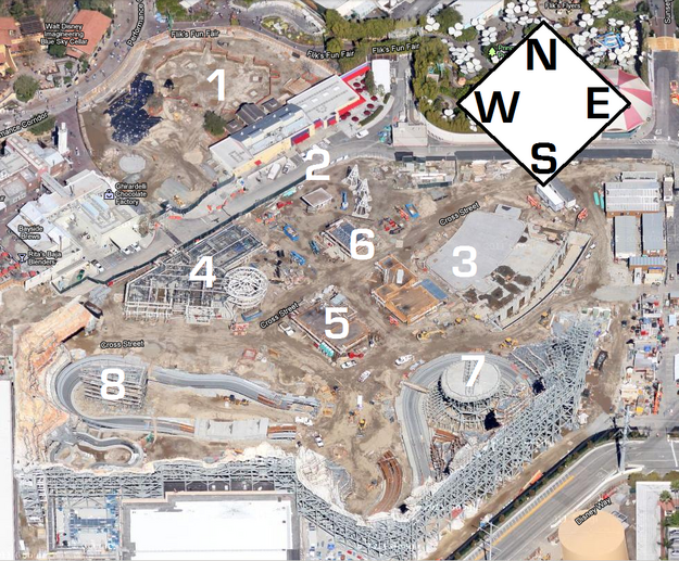 Cars Land Google Maps 2