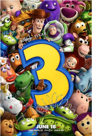 File:Toy Story 3 Offcial Poster 25 - Andy's Toys and the New Toys.png