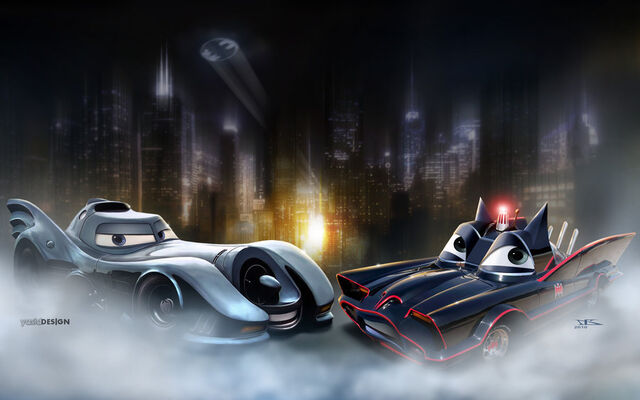 File:Batcar meets Batmobile by danyboz.jpg