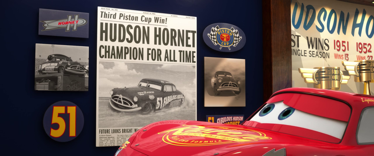 What Happened In The New Cars  With Doc Hudson
