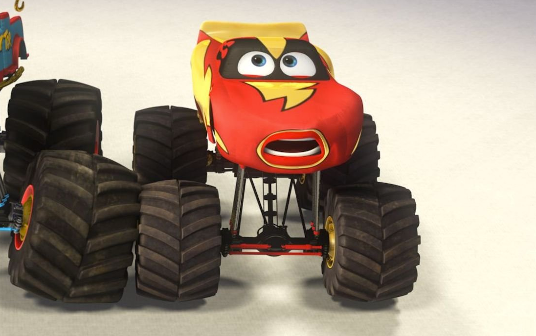 Image Lightning Mcqueen Monster Truck Mater Png Pixar Wiki