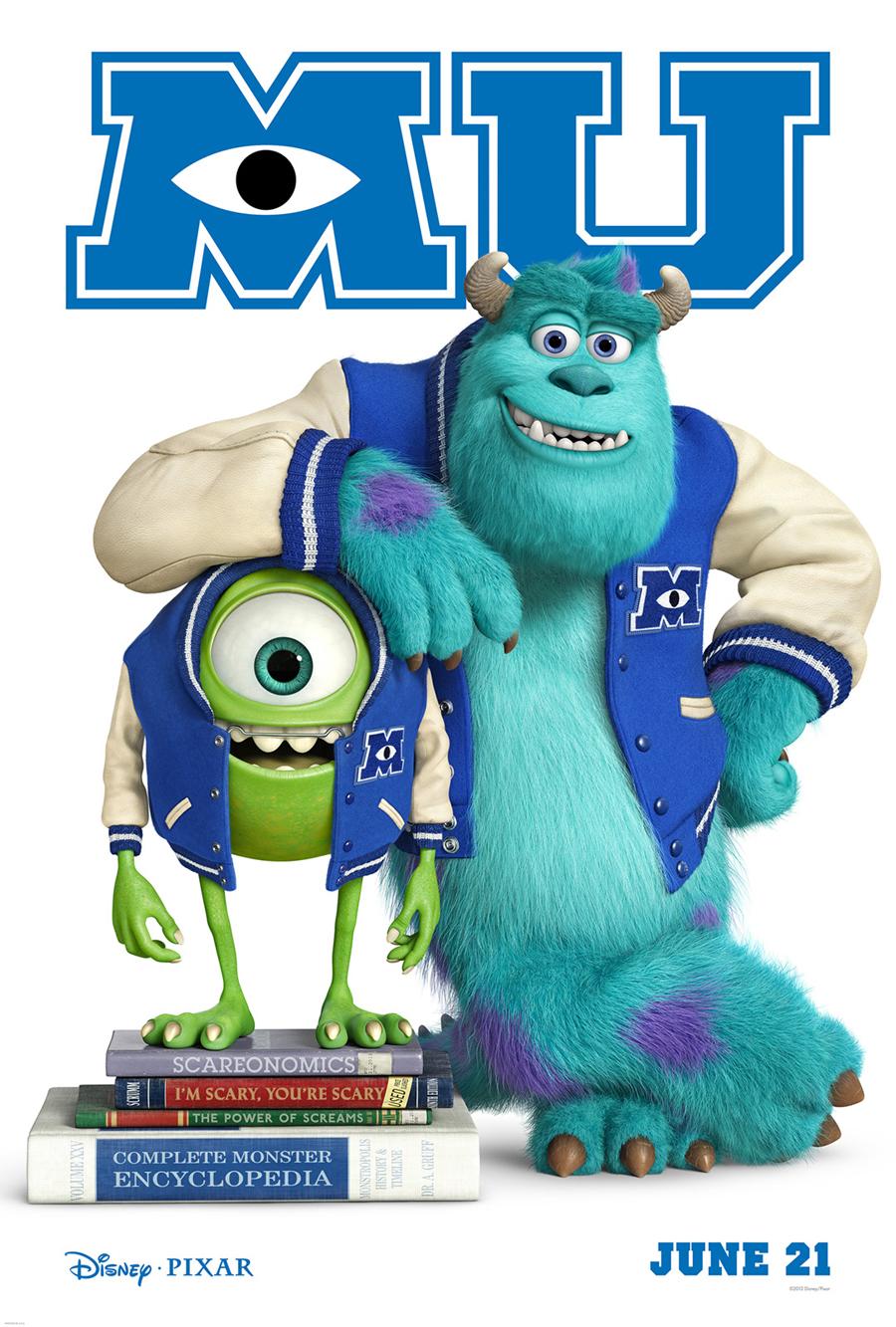 Monsters University 2013 Yipee Ki Yay Motherbooker