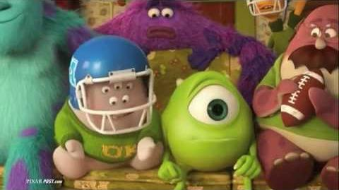 Monsters University Swiffer Commercial