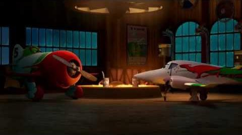 Planes clip - Disney - Rochelle meets El Chu Jessica Marais Only at the Movies September HD