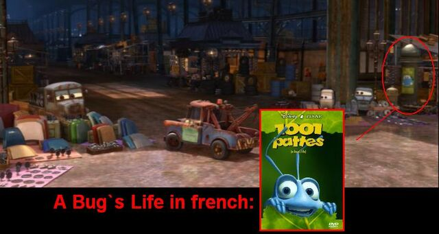 File:A Bug`s Life in Cars 2= 1001 Pattes. I discover it!.JPG