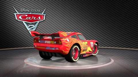 Lightning McQueen Turntable