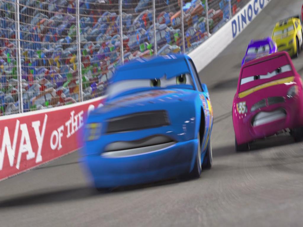 Cars Movie Big Crash