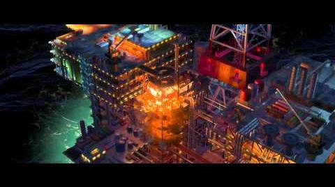 Cars 2 Oil Rig Escape - Clip