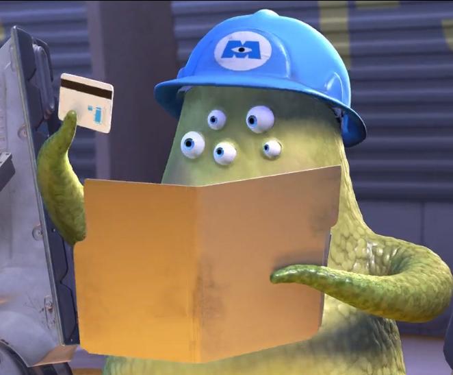 Monsters Inc Hard Hat
