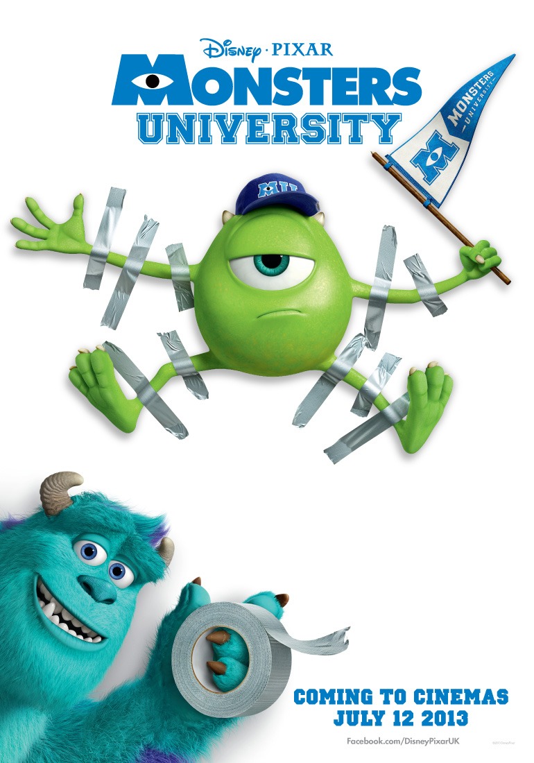 University Library Posters Monsters-university-poster