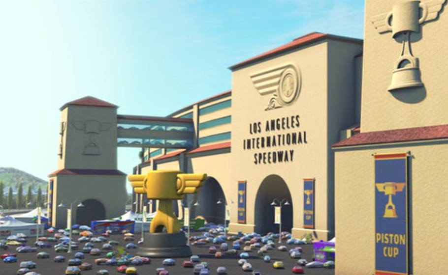 los angeles international speedway pixar wiki fandom