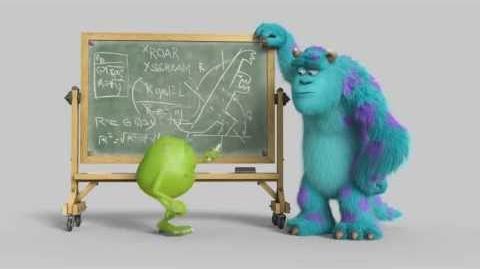 Monsters University - Lavagna - SQUADRADIMIKE HD