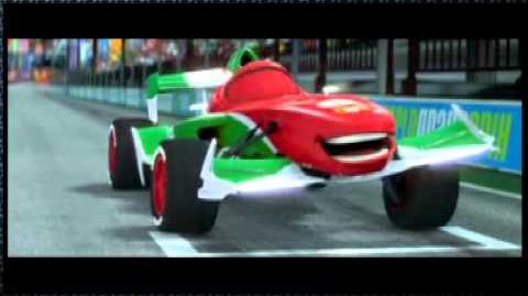Disney Pixar Cars 2 Check out Italy