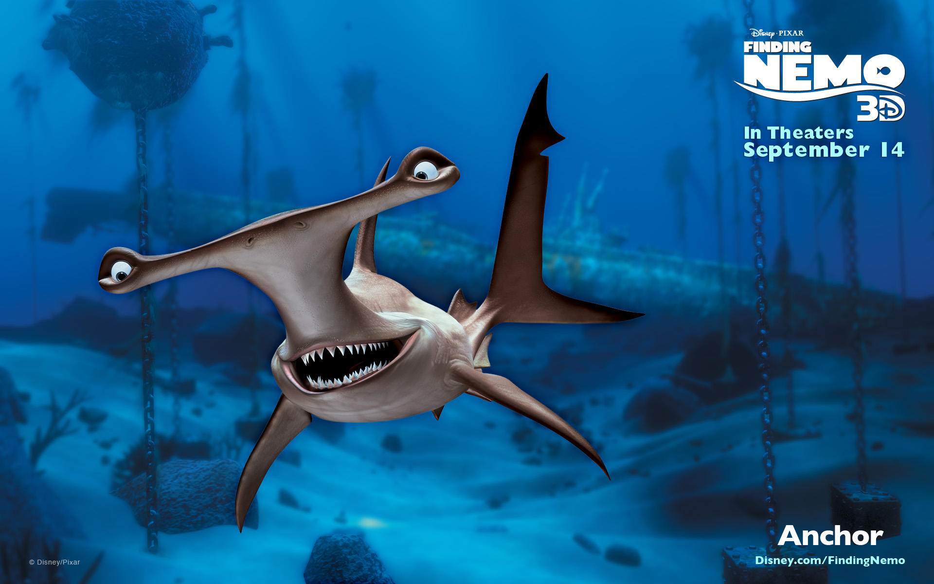 Anchor pixar wiki fandom powered by wikia for Disney fish names