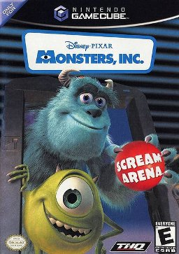 Monsters Inc Scream Arena