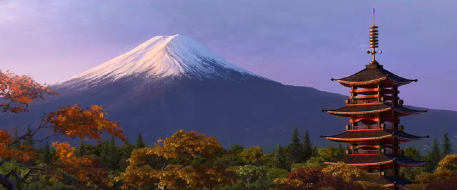 Mount Fuji Pixar Wiki Fandom Powered By Wikia
