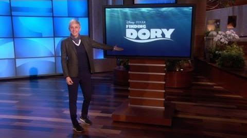 Ellen Announces 'Finding Dory'