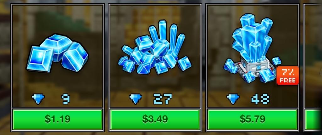 how to get gems on pixel gun