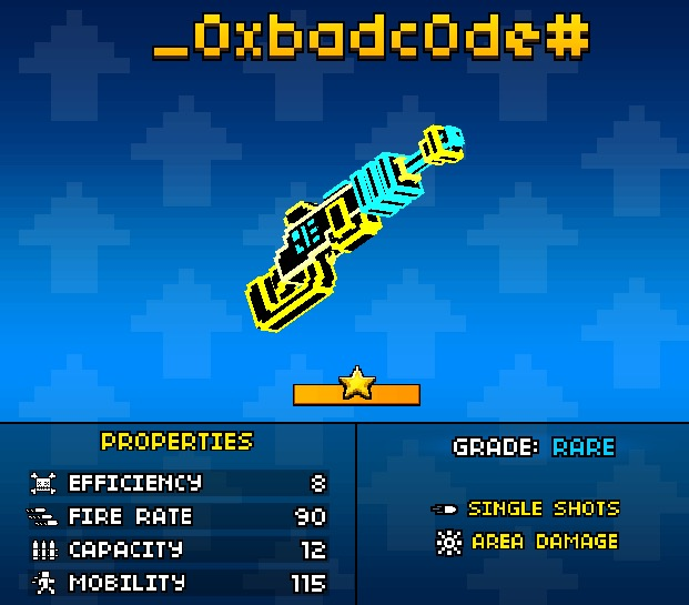 The correct ways to use 0XBADCODE | Pixel Gun Wiki ...Copy And Paste Symbols For Pixel Gun 3d