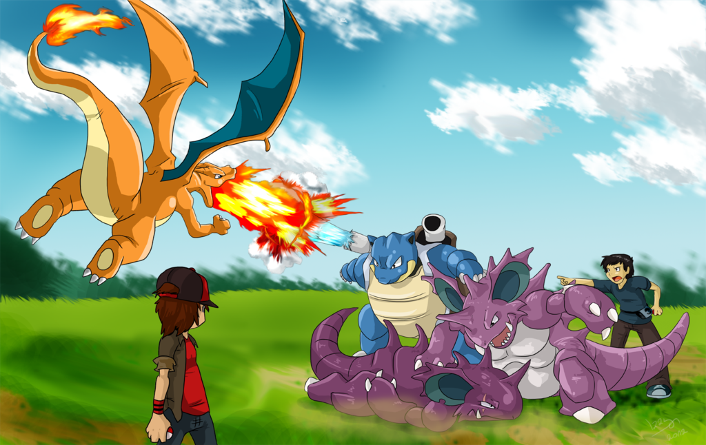 pokemon fight