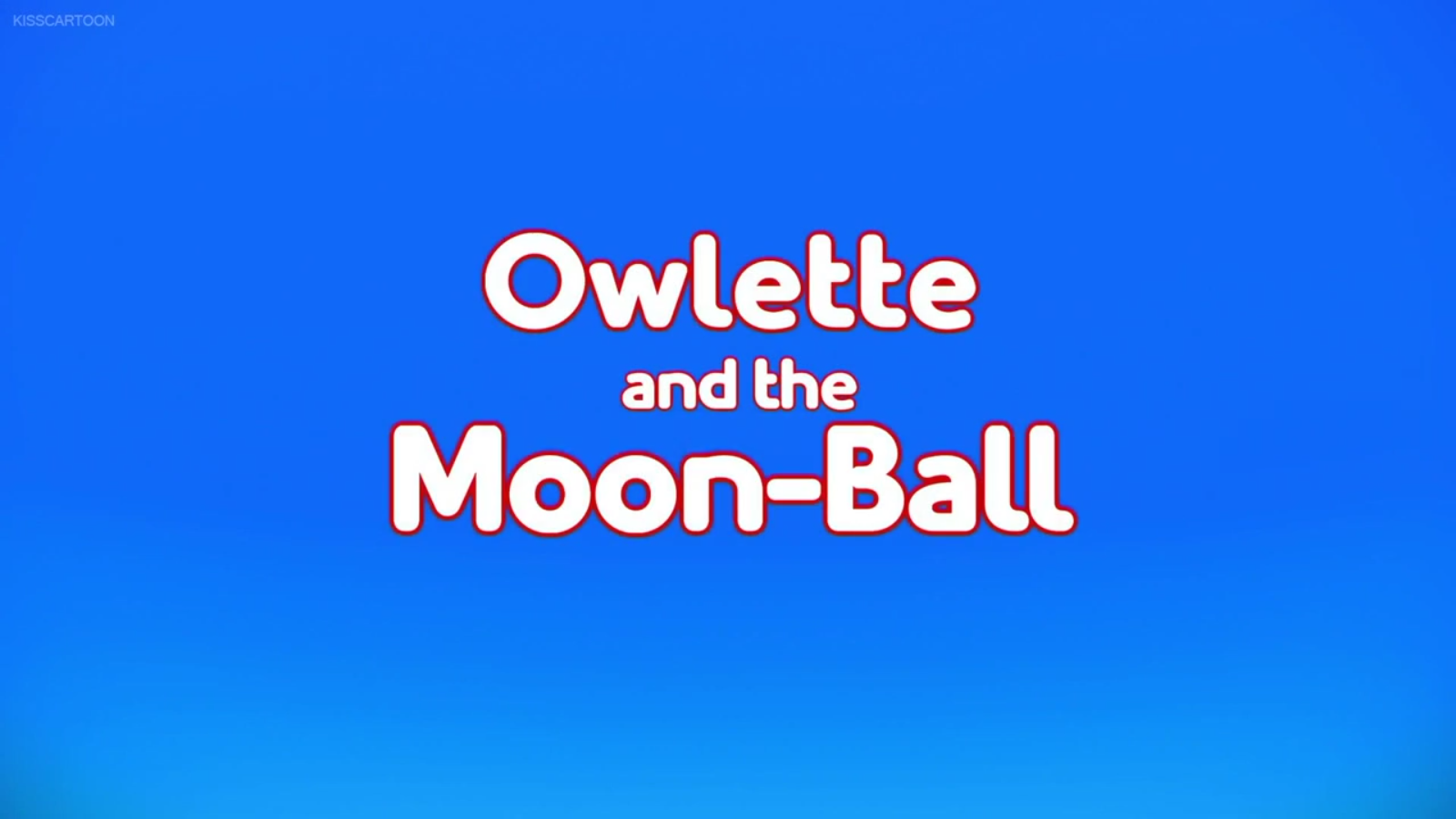 owlette and the moon