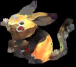 Pikachu Wrestler Arvalis