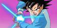 Goku trenuje