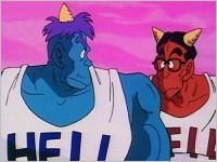Goz i Mez podczas pierwszej wizyty Goku w Piekle.jpg