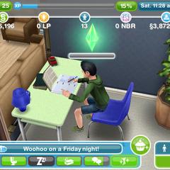 Młodzi simowie powinni odrabiać lekcje nawet przy niskim poziomie energii