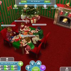 Teraz świąteczna kolacja także w The Sims FreePlay