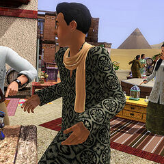 Targ w Egipcie