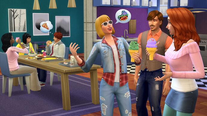 The Sims 4: Kuchnia na Wypasie