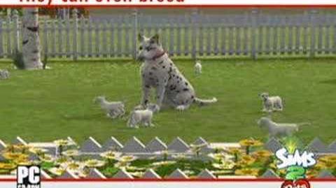 The Sims 2 Zwierzaki - Zwiastun