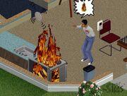 The Sims - pożar.jpg