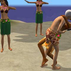 Oliwka prawdopodobnie odwiedziła Hawaje (dom Mrocznego Kosiarza)