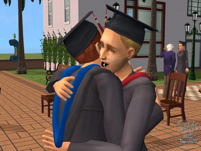 The Sims 2: Na studiach