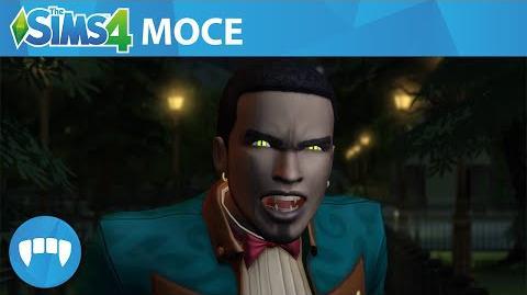 The Sims 4 Wampiry Oficjalny zwiastun rozgrywki z wampirzymi mocami