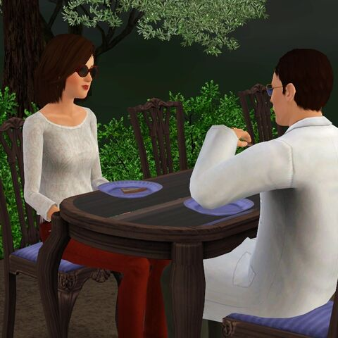 Patrizio z żoną (Sims 3)