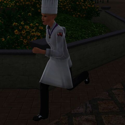 Strój szefa kuchni w The Sims 3
