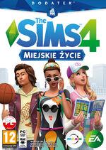 The sims 4 miejskie życie - okladka.jpg