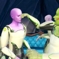 thumb|200x200px|Grupa Kosmitów z The Sims 4
