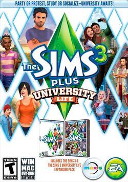 The sims 3 plus uniwersity life.jpg