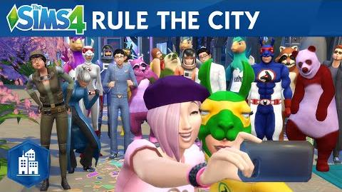 The Sims 4 City Living Official Launch Trailer