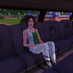 Simka w limuzynie (The Sims 3)