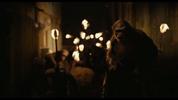 Koba leads apes to human armory