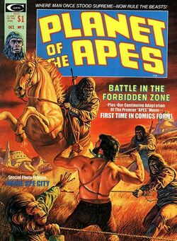 Planet of the Apes Magazine 2